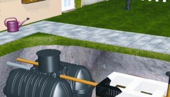 Oczyszczalnie ścieków, zbiorniki na wodę i szambo ROTH