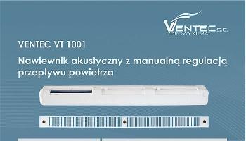 Nawiewniki powietrza Ventec