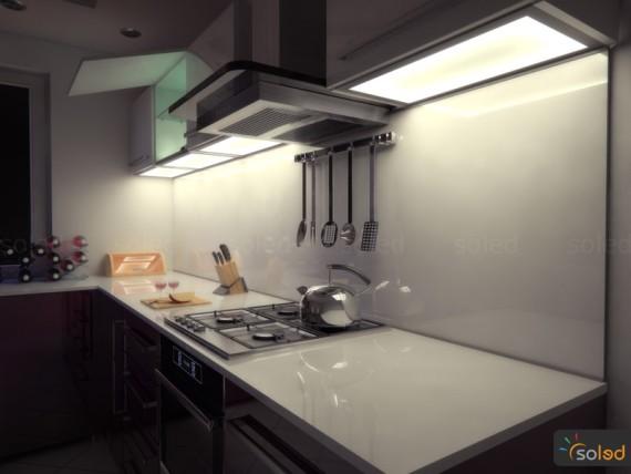 Wieniec LED - oświetlenie kuchni