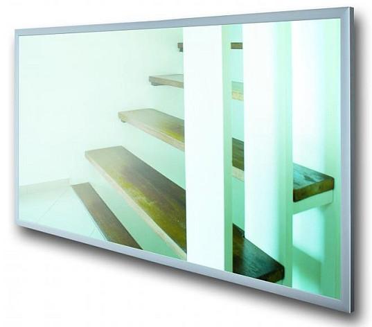 Szklany grzejnik promiennikowy do pomieszczeń mieszkalnych