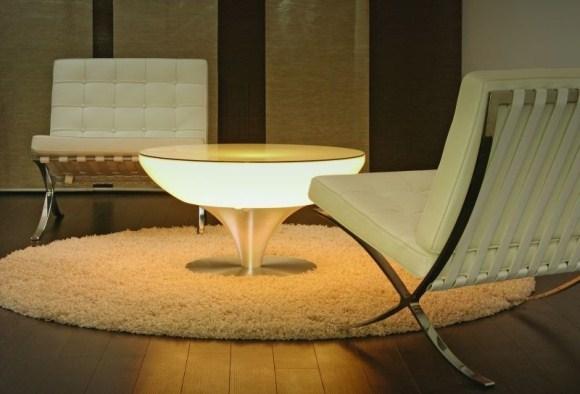 Stolik podświetlany