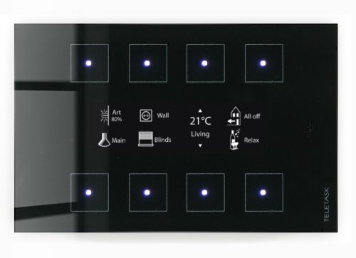 Inteligentny dom Teletask Panel dotykowy Aurus-8 OLED