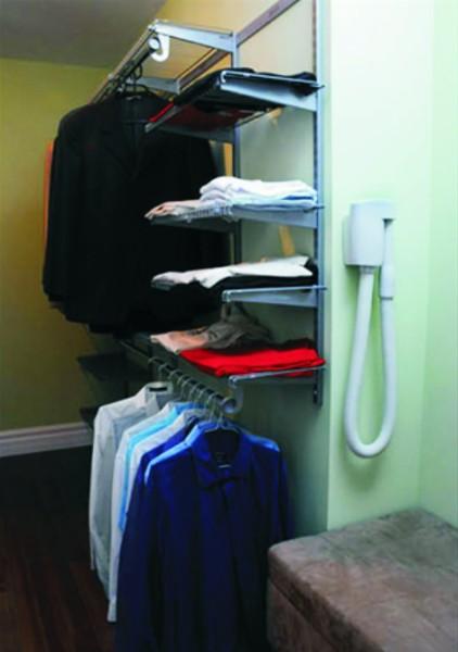 Wąż ssący Wally Flex - system centralnego odkurzania w garderobie