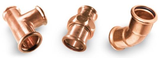 Złączki systemowe SANHA-Press do instalacji wody pitnej i instalacji grzewczych