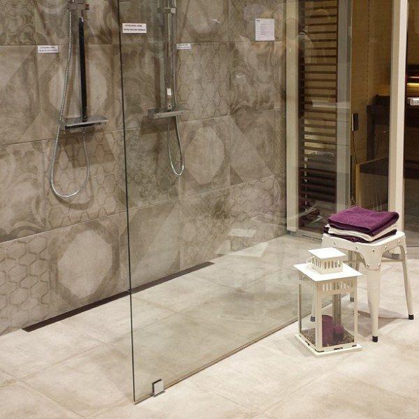 odwodnienie prysznicowe Purus Line - aranżacja