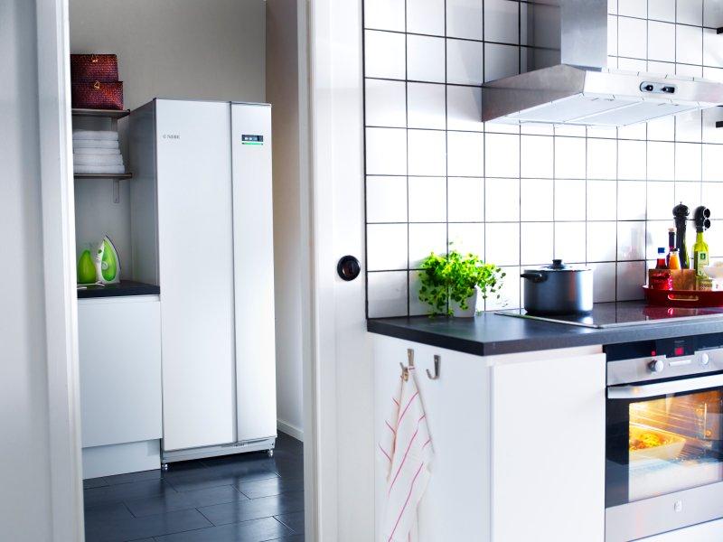 Pompa ciepła NIBE F1255 - ekologiczne i tanie ogrzewanie domu i wody