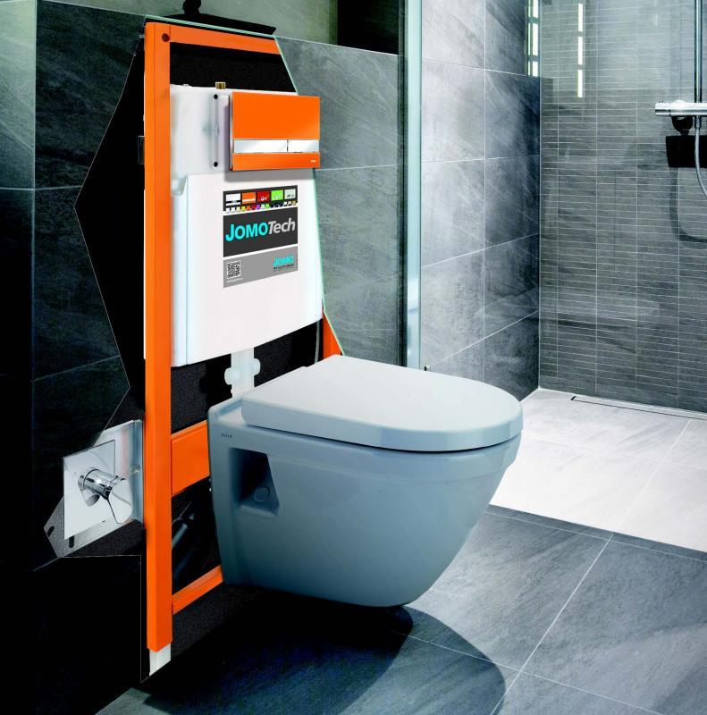 JOMOTech Zestaw Hygienic, ceramika VitrA oraz przycisk WC - WERIT