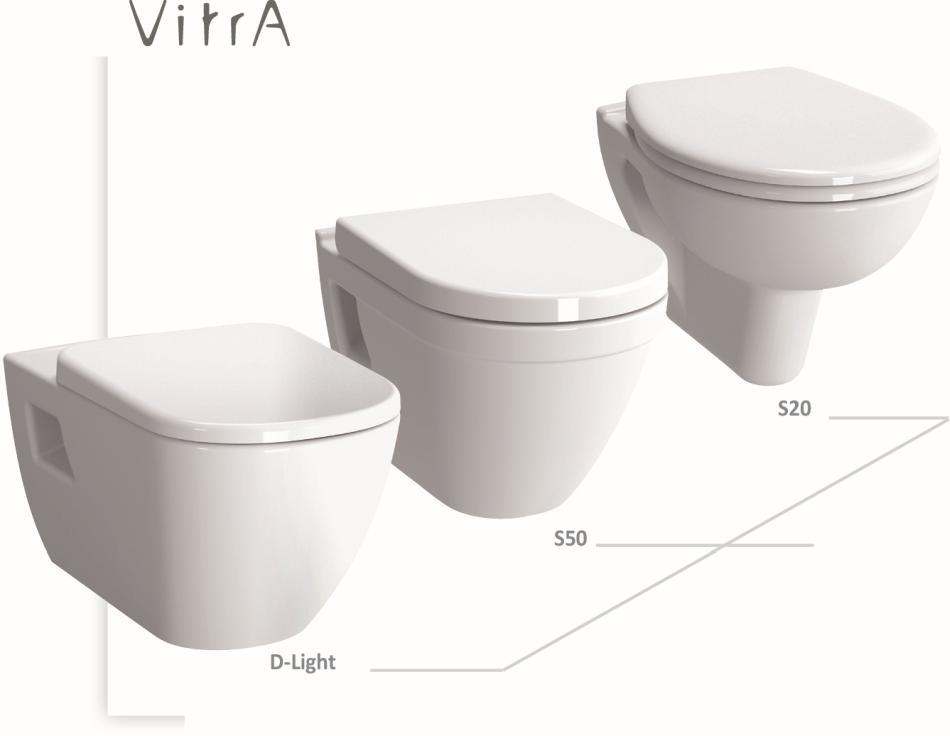 WERIT - Miski WC z funkcją bidetu, bezrantowe z systemem spłukiwania VitrA flush 2.0