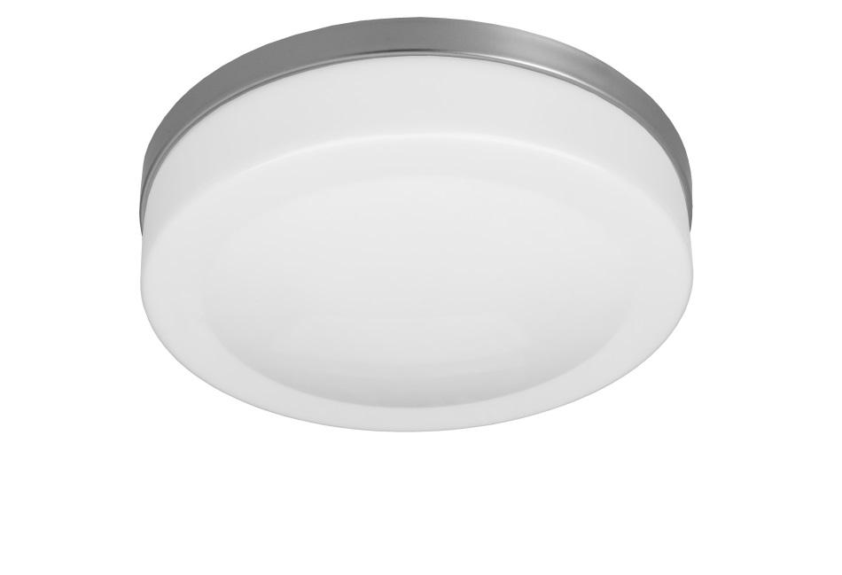 D.3142SM- Oprawa oświetleniowa KALIPSO E27 srebrna, klosz mleczny