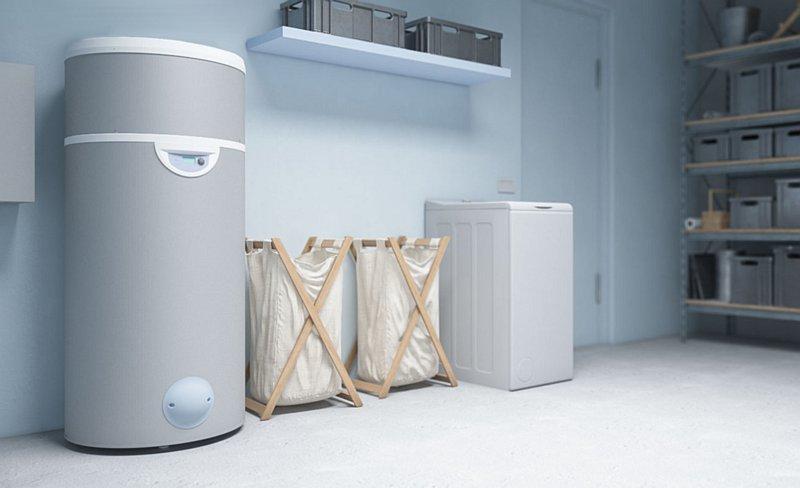 Pompa ciepła do ciepłej wody użytkowej Edel w systemie Woda-Woda