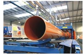 System kanalizacji zewnętrznej PVC - produkcja