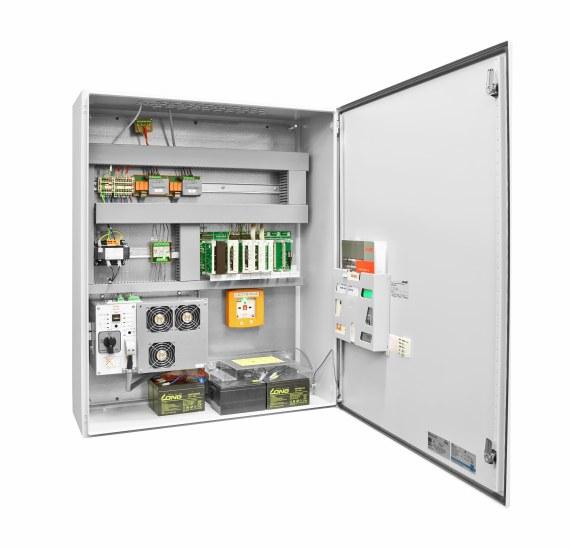 System oddymiania 230 V firmy D+H