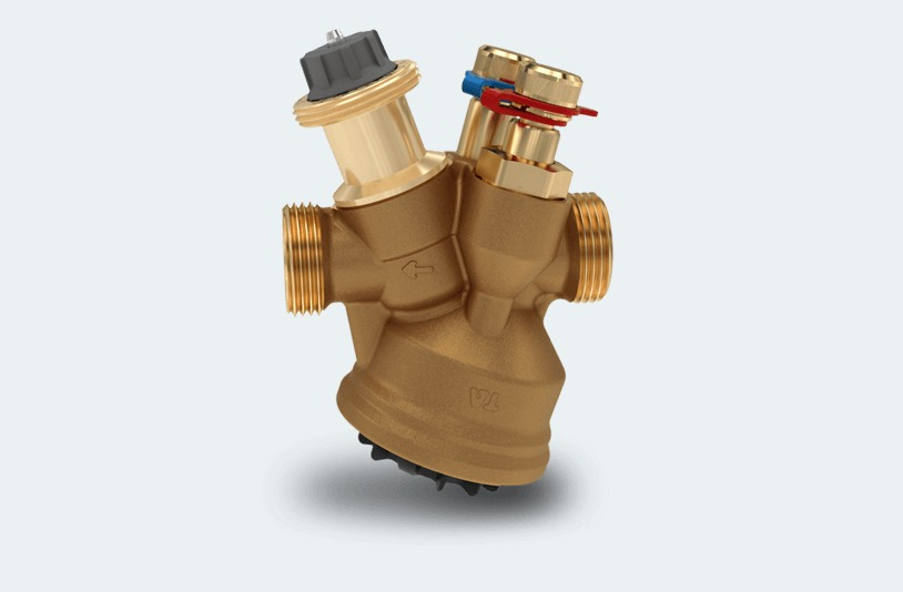TA-Modulator - niezależny od ciśnienia zawór równoważący i regulujący