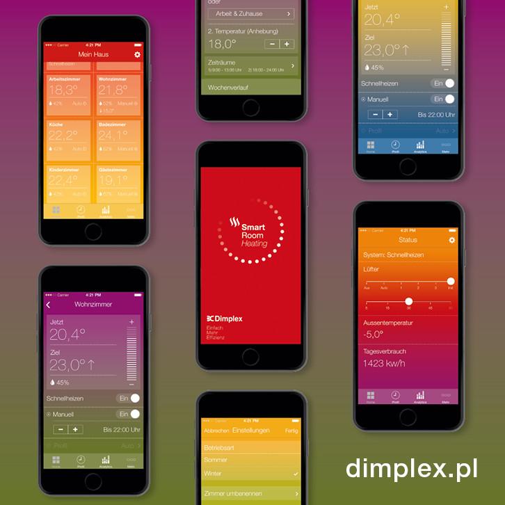 Aplikacja mobilna Dimplex