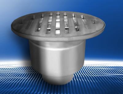 Kratki ściekowe profesjonalne okrągłe KMB Steel Product