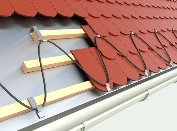 Ochrona przed śniegiem - ogrzewanie krawędzi dachu