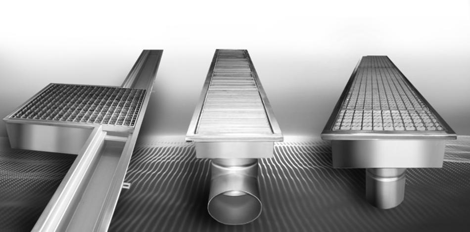 odwodnienia liniowe KMB Steel Product