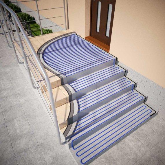 System odladzania schodów - przewody grzejne ELEKTRA