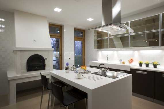 Liniowa Oprawa Grazi Led Do Miejscowego Oświetlenia Blatu W Kuchni