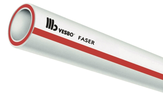 Wzmocnione rury VESBO FASER SDR 6